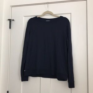 Tops - Cute navy lace sweater